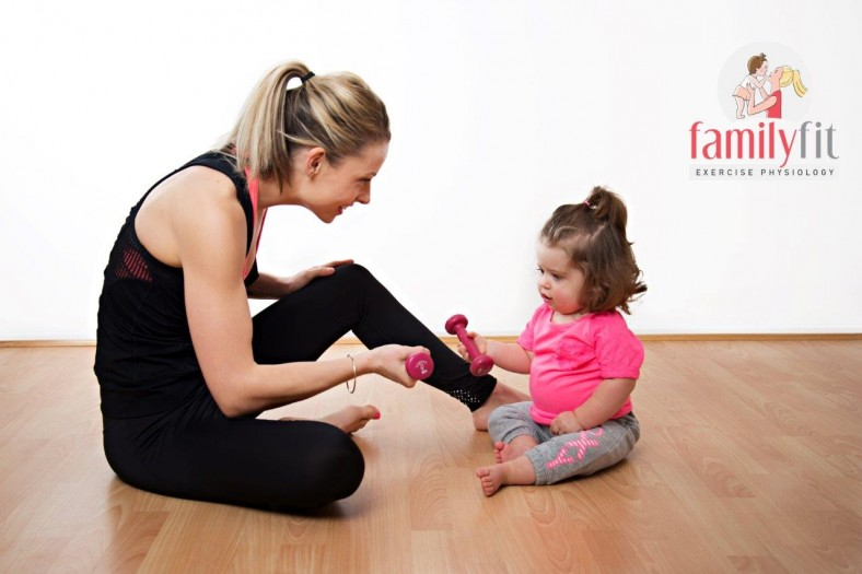 Family Fit Exercise Physiology - Exercise with Baby (12 months)